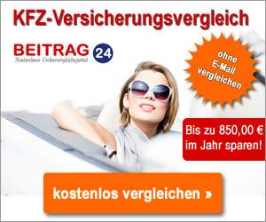 KFZ Versicherung Vergleich BEITRAG24